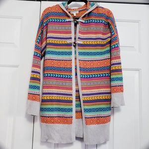 Tucker + Tate Size XL 16 Colorful Open Cardigan